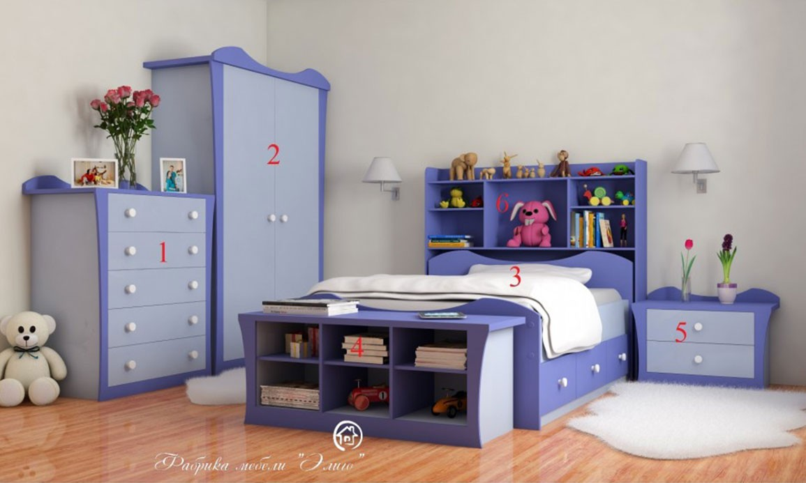 Детская мебель Bella