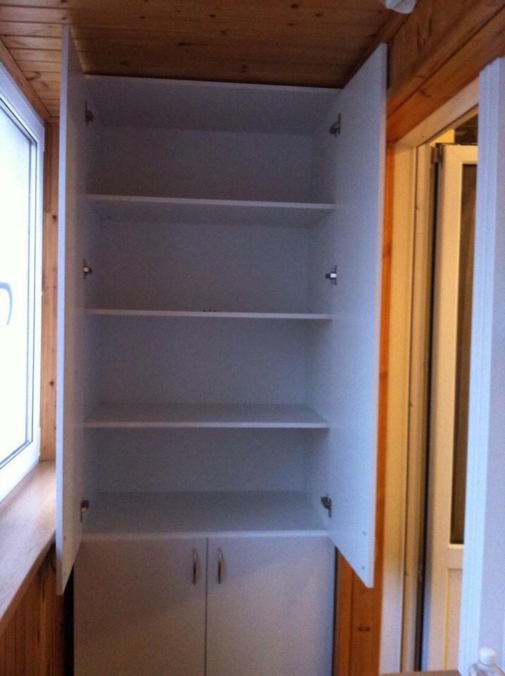 Шкаф на балкон 1