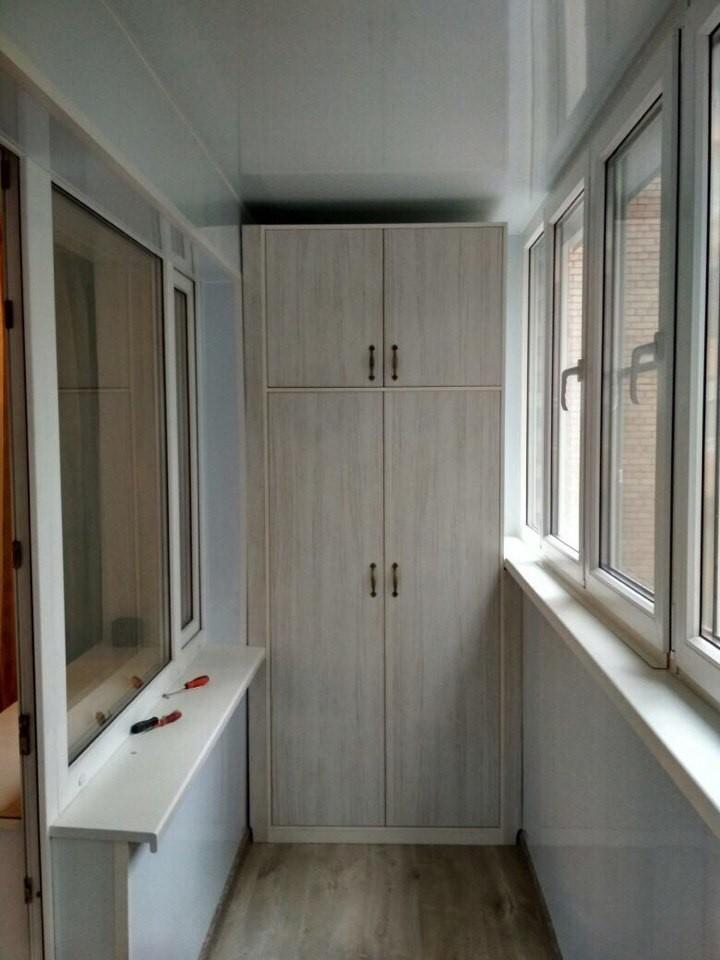 Шкаф на балкон 2